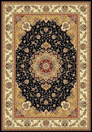 Safavieh Lyndhurst LNH329A Black / Ivory Area Rug