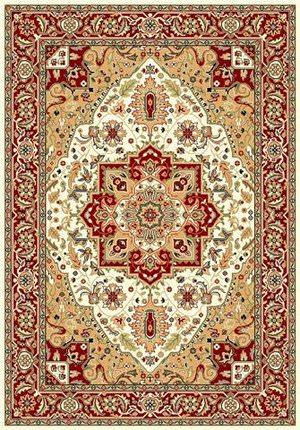 Safavieh Lyndhurst LNH330A Ivory / Red Area Rug