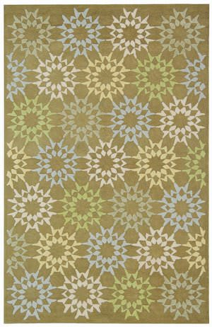 Martha Stewart Block Quilt MSR1843F PEBBLE / GREY Area Rug