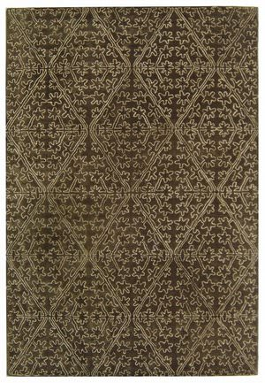 Martha Stewart Strolling Garden MSR3258C COFFEE / BROWN Area Rug