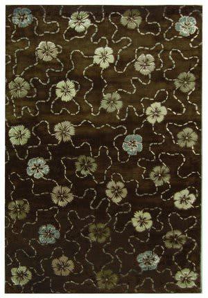 Martha Stewart Garland MSR3267C MOCHA Area Rug