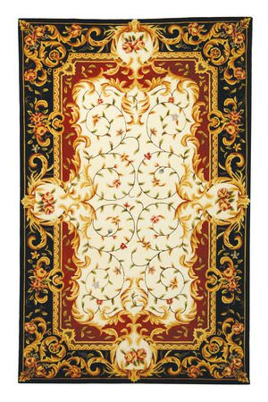 Safavieh Naples NA508A Ivory / Black Area Rug