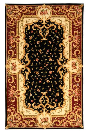 Safavieh Naples NA508B Black / Red Area Rug