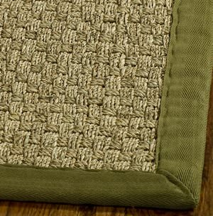Safavieh Natural Fiber NF114G Natural / Olive Area Rug