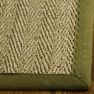 Safavieh Natural Fiber NF115G Natural / Olive Area Rug
