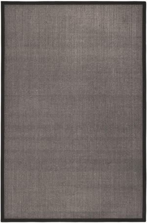 Safavieh Natural Fiber NF441D Charcoal / Charcoal Area Rug