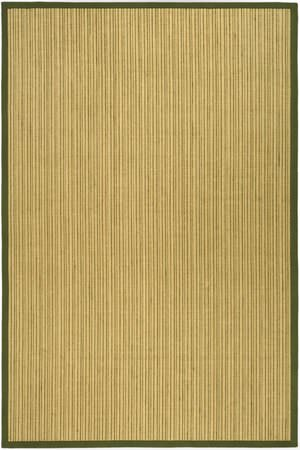 Safavieh Natural Fiber NF442A Green Area Rug