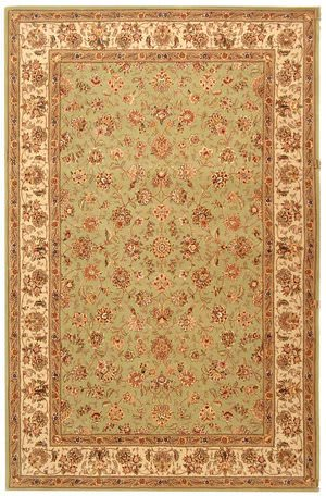 Safavieh Persian Court PC106D Light Green / Ivory Area Rug