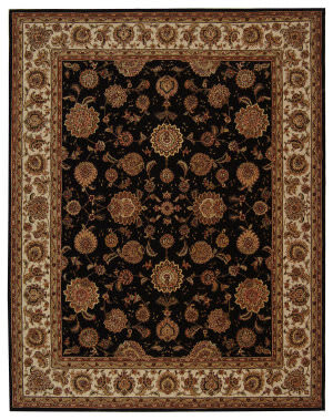 Rugstudio Sample Sale 50161R Plum / Ivory Area Rug