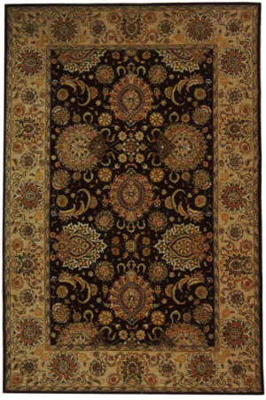 Safavieh Persian Court PC413C Burgundy / Beige Area Rug