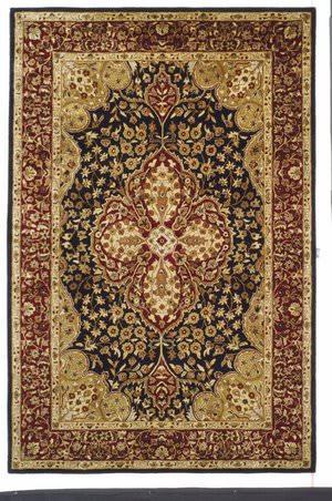 Safavieh Persian Legend PL522B Black / Red Area Rug