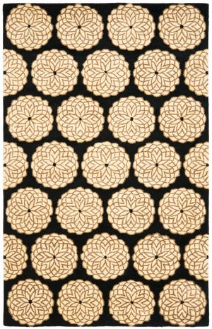 Safavieh Rodeo Drive RD952A Black / White Area Rug