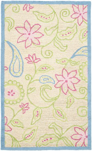 Safavieh Kids SFK362A Ivory / Blue Area Rug