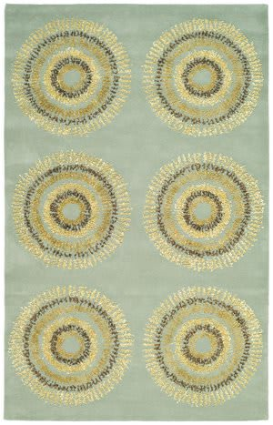Safavieh Soho Soh719c Light Blue / Multi Area Rug