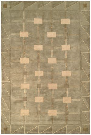 Safavieh Tibetan TB101D Green / Gold Area Rug