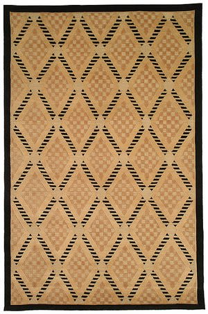 Safavieh Tibetan TB273A Black / Gold Area Rug