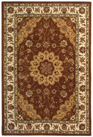 Safavieh Traditions TD610D Tan / Ivory Area Rug