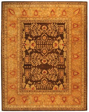 Safavieh Taj Mahal TJM107A Brown / Gold Area Rug