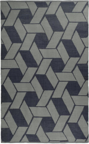 Rugstudio Sample Sale 47367R Indigo Area Rug
