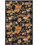 Safavieh Blossom BLM913B Black / Multi Area Rug