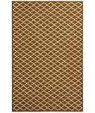 Safavieh Newport NPT211C Chocolate / Ivory Area Rug