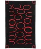 Safavieh Soho SOH714B Black / Red Area Rug