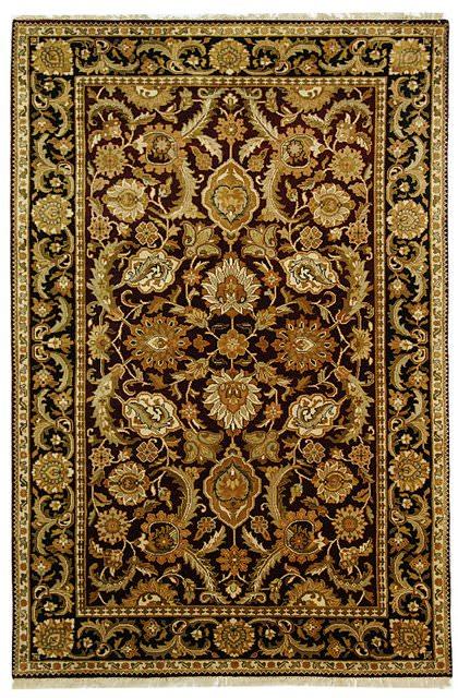 Safavieh Dynasty Dy244a Burgundy Black Clearance Rug Studio