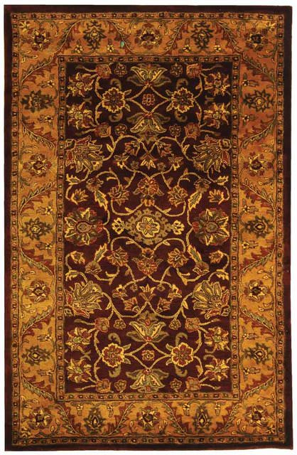 Safavieh Golden Jaipur Gj250c Burgundy Gold Clearance