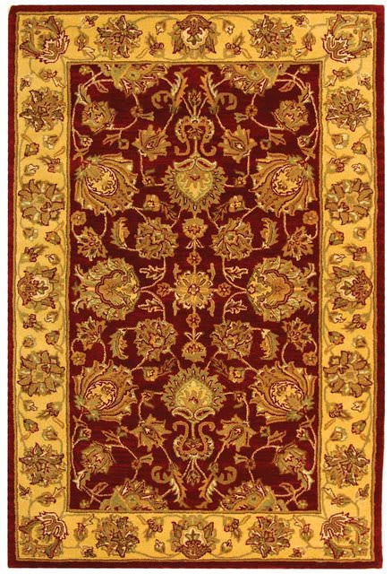 Safavieh Heritage Hg343c Red Gold Clearance Rug Studio