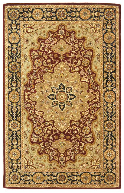 Safavieh Heritage Hg760b Red Black Clearance Rug Studio