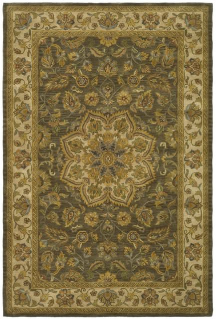 Safavieh Heritage Hg954a Green Taupe Clearance Rug Studio