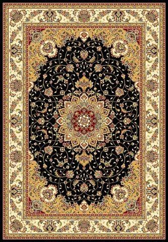 Safavieh Lyndhurst Lnh329a Black Ivory Clearance Rug