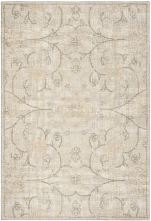 Safavieh Abstract Abt527c Light Grey - Ivory Area Rug