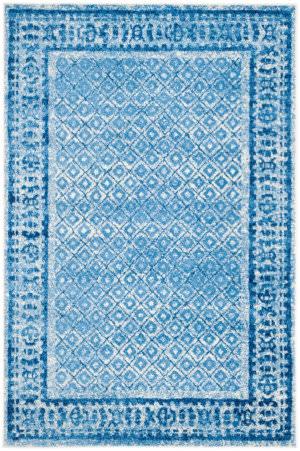 Safavieh Adirondack Adr110d Silver - Blue Area Rug
