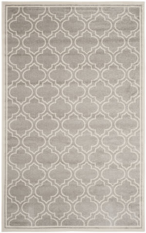 Safavieh Amherst Amt412b Light Grey / Ivory Area Rug
