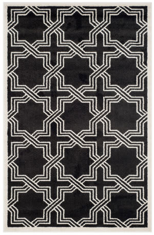 Safavieh Amherst Amt413g Anthracite - Ivory Area Rug