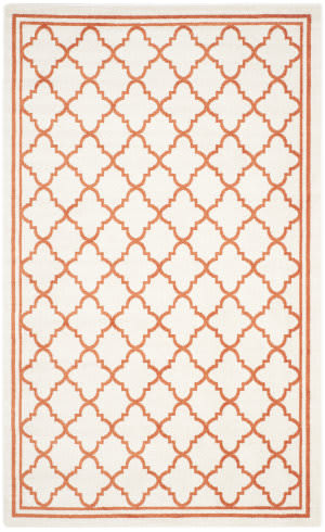 Safavieh Amherst Amt422f Beige - Orange Area Rug