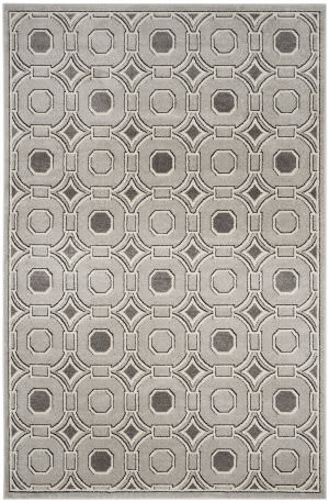 Safavieh Amherst Amt431b Light Grey - Ivory Area Rug