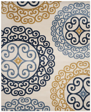 Safavieh Amherst Amt439t Ivory - Gold Area Rug
