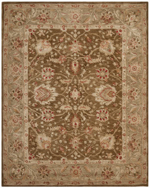 Safavieh Anatolia AN512F Brown / Green Area Rug