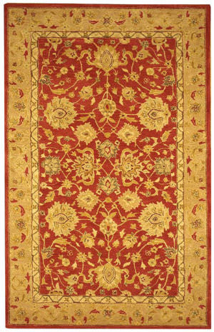 Safavieh Anatolia AN522A Red / Ivory Area Rug