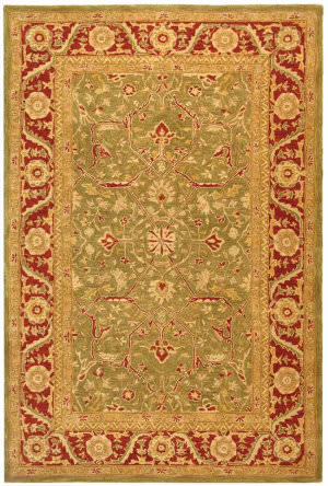 Safavieh Anatolia AN523A Green / Red Area Rug