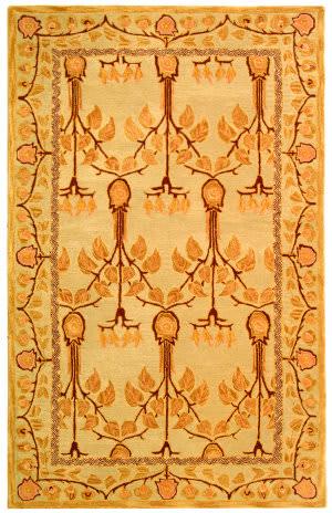 Safavieh Anatolia AN542B Ivory / Gold Area Rug