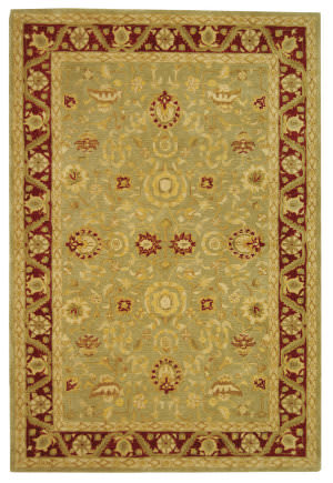 Safavieh Anatolia AN548A Light Green / Red Area Rug