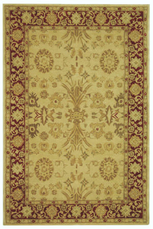Safavieh Anatolia AN551A Ivory / Red Area Rug