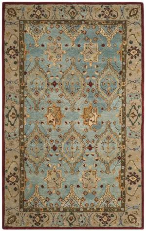 Safavieh Anatolia An566a Blue - Ivory Area Rug