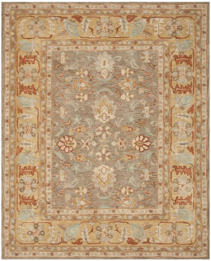 Safavieh Anatolia An577a Brown / Camel Area Rug