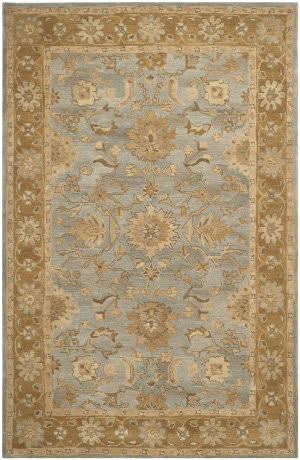 Safavieh Anatolia An585d Light Blue / Taupe Area Rug