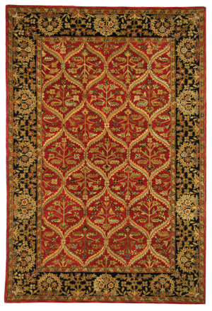 Safavieh Anatolia AN610A Red / Navy Area Rug