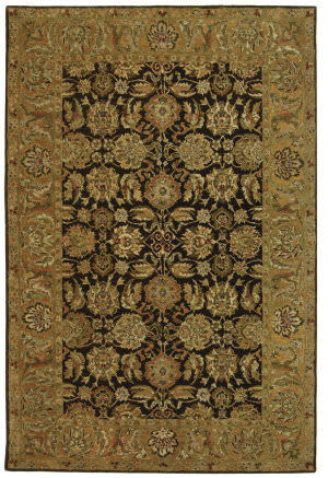 Safavieh Anatolia AN615B Dark Brown / Gold Area Rug